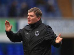 Joe Gallen hailed Portsmouth's tenacity (Mike Egerton/PA)