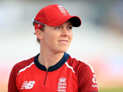 Heather Knight says England Women will learn from their loss (Mike Egerton/PA)