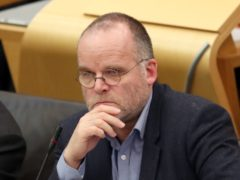 Andy Wightman resigned from the Scottish Greens in December (Jane Barlow/PA)