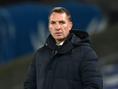 Leicester manager Brendan Rodgers has warned his players they should not use social media for validation of their performances (Facundo Arrizabalaga/PA)