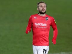 Salford striker James Wilson will be hoping to be fit for the visit of Bolton (Richard Sellers/PA)