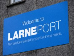 Council staff have resumed checks at Larne Port (PA)