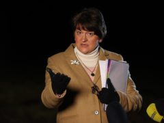The DUP are absolutely committed to racial equality, Arlene Foster said (Liam McBurney/PA)