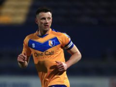 Ollie Clarke is expected to return for Mansfield (Mike Egerton/PA)