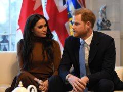 The Duke and Duchess of Sussex have been stripped of their prestigious patronages as the couple confirmed Megxit was permanent (Finnbarr Webster/PA)