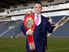 Josh Warrington makes his return to the ring on Saturday (Bradley Collyer/PA)