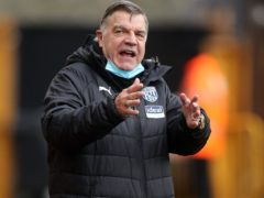 West Brom manager Sam Allardyce knows his side face a must-win battle with fellow struggler Sheff Utd at Bramall Lane (Carl Recine/PA Images).