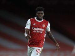 Thomas Partey is likely to miss Arsenal's home game against Manchester City (Adam Davy/PA)