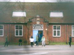 Napier Barracks in Folkestone, Kent (PA)