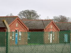 Napier Barracks has been used as 'emergency' accommodation since September (Gareth Fuller/PA)