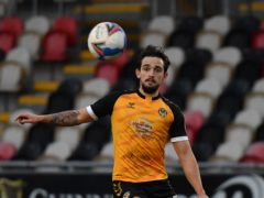 Liam Shephard is available again for Newport (Simon Galloway/PA)
