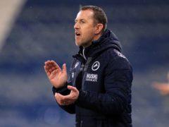 Millwall manager Gary Rowett (Mike Egerton/PA)