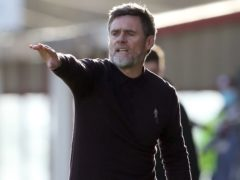 Motherwell manager Graham Alexander (Andrew Milligan/PA)