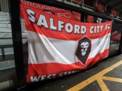 Salford's game with Colchester has been postponed (Mike Egerton/PA)