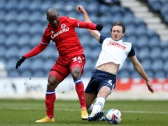 Ben Davies, right, has moved to Liverpool (Barrington Coombs/PA)