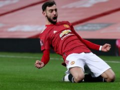 Manchester United are not obliged to release Bruno Fernandes for international duty because of UK quarantine rules on arrivals from Portugal (Martin Rickett/PA)