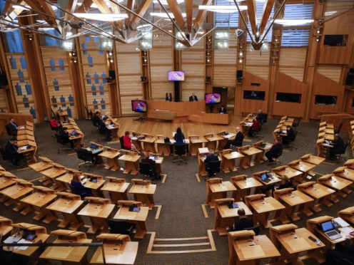 The Scottish Liberal Democrats are asking MSPs to declare that Scotland is facing a mental health crisis (Robert Perry/PA)