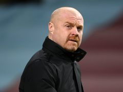 Sean Dyche's Burnley came into the game against Brighton as the Premier League's lowest scorers this season (Michael Regan/PA)