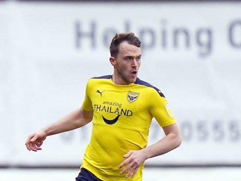 Oxford's Sam Long has suffered a hamstring problem (Tess Derry/PA)