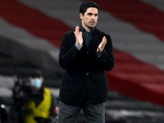 Arsenal and their manager Mikel Arteta, pictured, could face Benfica in a one-off tie on neutral territory (Andy Rain/PA)