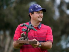 Patrick Reed shook off his involvement in another rules controversy to claim a five-stroke win and his ninth PGA Tour title (Gregory Bull/AP)