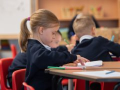 Young children are going back to school in Wales (PA)