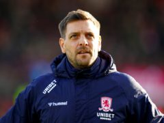 Former Middlesbrough head coach Jonathan Woodgate has taken temporary charge at Bournemouth (John Walton/PA)