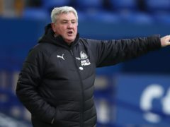 Newcastle head coach Steve Bruce has been targeted on social media (Clive Brunskill/PA)