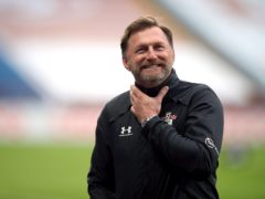 Ralph Hasenhuttl is targeting FA Cujp success after booking a place in the last eight with a win at Wolves (Nick Potts/PA)