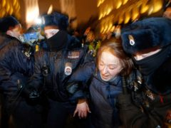 The expelled diplomats are said to have attended rallies in support of Kremlin critic Alexei Navalny (Dmitri Lovetsky/AP/PA)