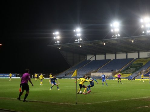 Oxford have pushed their home match with Wigan back one day to February 14 (David Davies/PA)