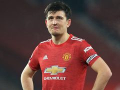 Harry Maguire is set to return to Manchester United's starting line-up at Chelsea (Lindsey Parnaby/PA)