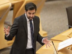 Justice Secretary Humza Yousaf says cutting the number of hours of unpaid work in Community Payback Orders is a necessary response to Covid-19. (Jane Barlow/PA)