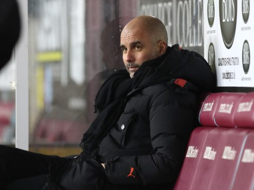 Pep Guardiola fears the international window could lead to a rise in coronavirus cases (Martin Rickett/PA)