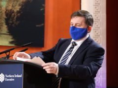 Stormont's Health Minister Robin Swann (Press Eye/PA)