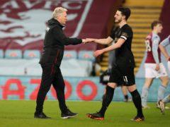 David Moyes wants West Ham to start winning the big games (Nick Potts/PA)