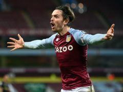 Jack Grealish was absent for Aston Villa on Sunday (Laurence Griffiths/PA)