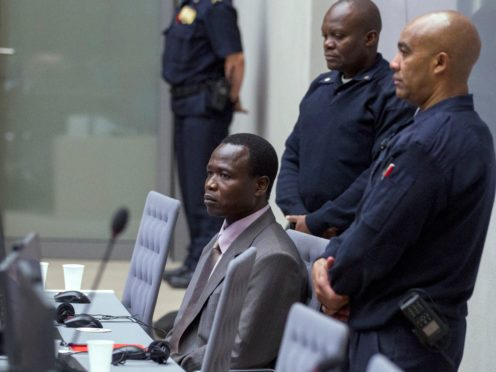 Dominic Ongwen was a senior commander in a brutal Ugandan rebel group (Michael Kooren via AP)