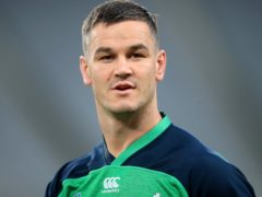 Ireland captain Johnny Sexton is a doubt to face France (Adam Davy/PA)