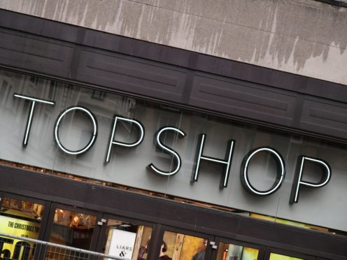 All Topshop's physical stores are set to close (Ian West/PA)