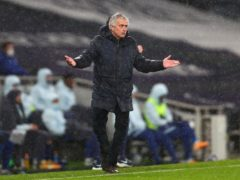 Jose Mourinho can see spirit in his squad (Clive Rose/PA)