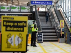 The Government has admitted that no formal contracts have been awarded to hotels to quarantine arrivals from countries on the 'red list' despite the policy coming into force next week (Andrew Matthews/PA)