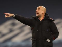 Pep Guardiola claims not to see the point of playing mind games with rival managers (Clive Brunskill/PA)