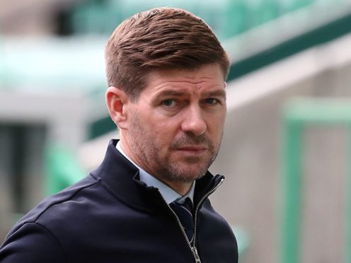 Rangers manager Steven Gerrard has lost striker Kemar Roofe to a two-match ban (Andrew Milligan/PA).