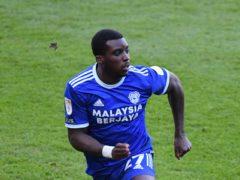 Sheyi Ojo broke the deadlock just before the break for Cardiff (Simon Galloway/PA)