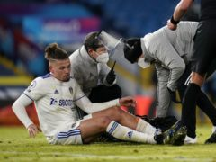 Kalvin Phillips sustained a calf injury in Monday's home win against Crystal Palace (Tim Keeton/PA)