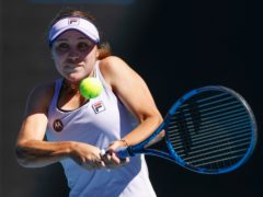 Sofia Kenin fought her way into the second round of the Australian Open (Rick Rycroft/AP)