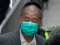 Jimmy Lai leaves the Hong Kong's Court of Final Appeal (AP/Kin Cheung)