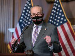 Senate majority leader Chuck Schumer (AP/J. Scott Applewhite)