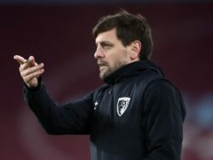 Jonathan Woodgate is currently in charge of Bournemouth (Nick Potts/PA)